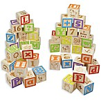 Maxim© Preschool Collection 40-Piece ABC Wooden Block Set