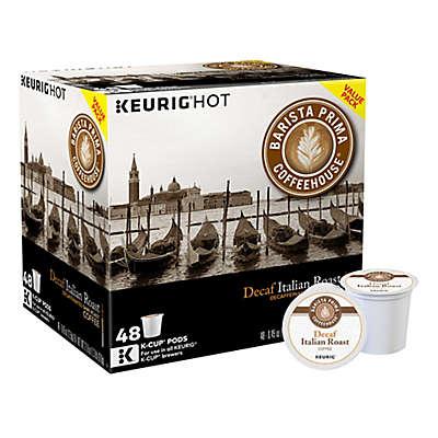 Keurig® K-Cup 48-Count Barista Prima® Decaf Italian Roast Coffee Value Pack