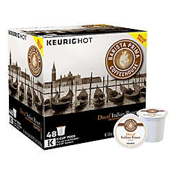 Barista Prima Coffeehouse® Italian Roast Decaf Coffee Keurig® K-Cup® Pods 48-Count Pack
