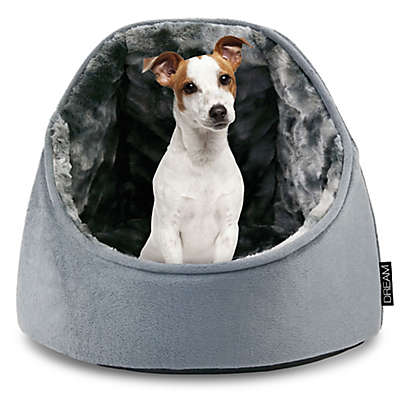 Precious Tails Micro Mink Round Hooded Dome Pet Bed