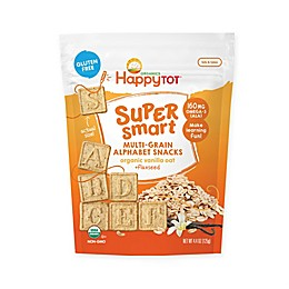Happy Tot™  Super Smart Multi-Grain Alphabet Snacks in Vanilla Oat