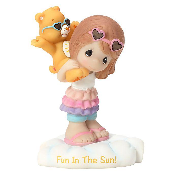 Alternate image 1 for Precious Moments® Care Bear Girl with Funshine Bear Figurine