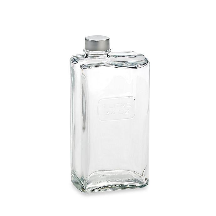 Alternate image 1 for Luigi Bormioli Optima 34 oz. Glass Can with Cap