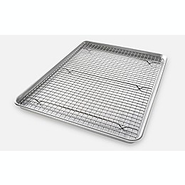 USA Pan Baking 2-Piece  Pan/Rack Set
