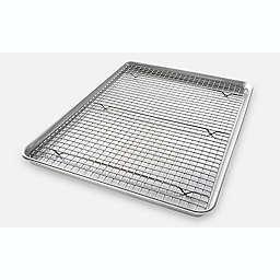 USA Pan Baking 2-Piece  Pan/Rack Set