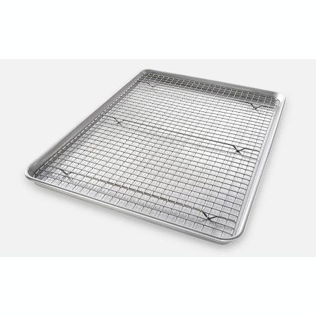 Usa Pan Baking 2 Piece Pan Rack Set Bed Bath Amp Beyond