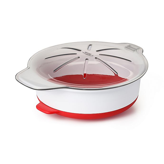 Alternate image 1 for OXO Good Grips® Microwave Egg Cooker in Red/White
