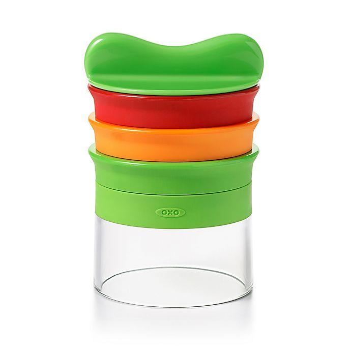 Alternate image 1 for OXO Good Grips® Spiralizer 3-Blade Slicer in Red/Green/Orange