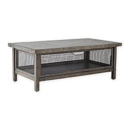 INK+IVY Cody Coffee Table in Grey
