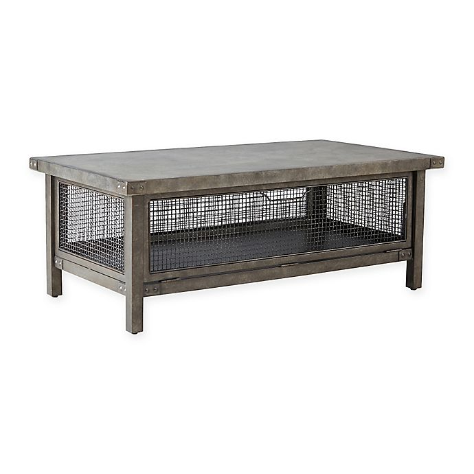 Alternate image 1 for INK+IVY Cody Coffee Table in Grey