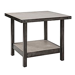 INK+IVY® Cody End Table in Pewter