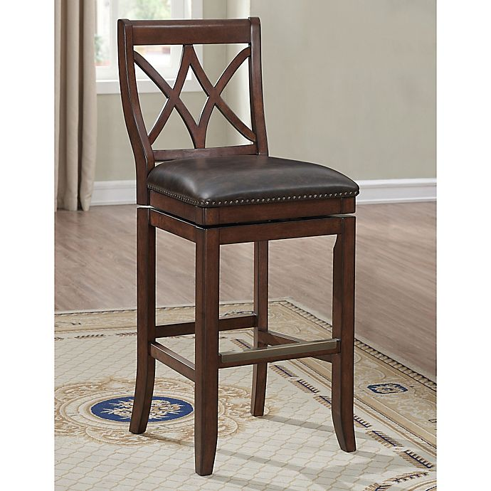 Buy American Heritage Hadley Barstool In Sable From Bed