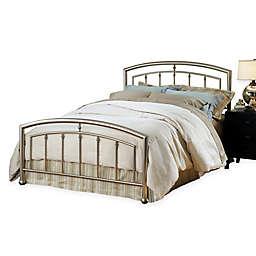 Hillsdale Claudia Bed Set in Nickel