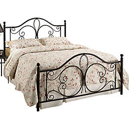 Hillsdale Milwaukee Bed Set in Brown