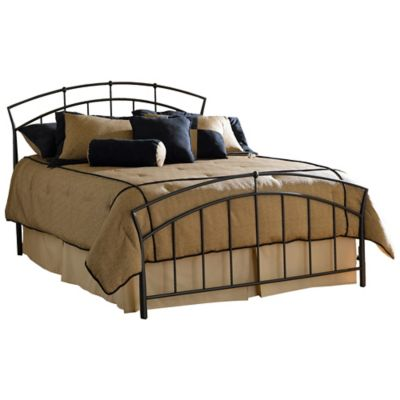 Hillsdale Vancouver Bed without Rails in Brown   Bed Bath ...