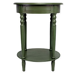 Décor Therapy Simplify Oval Accent Table