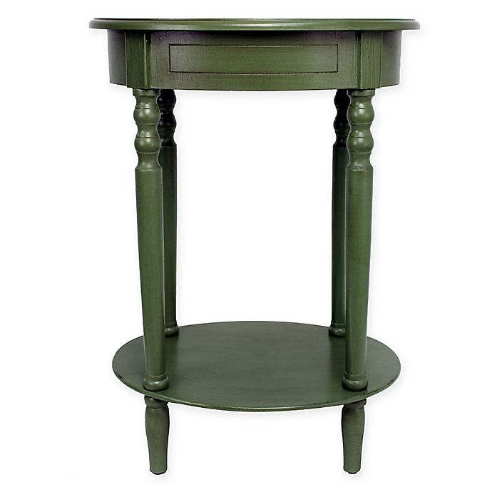 Alternate image 1 for Décor Therapy Simplify Oval Accent Table