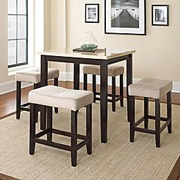 Steve Silver Co. Aberdeen 5-Piece Counter Height Dining Set