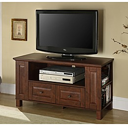 "Forest Gate 44"" Will Traditional Wood TV Stand Console"