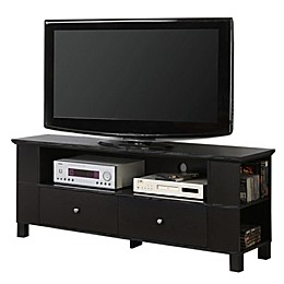"""Forest Gate 60"""" Traditional Wood TV Stand"""