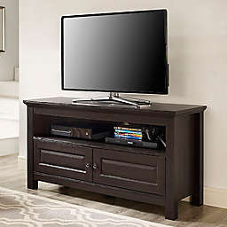 "Forest Gate 44"" James Traditional Wood TV Stand Console in Espresso"