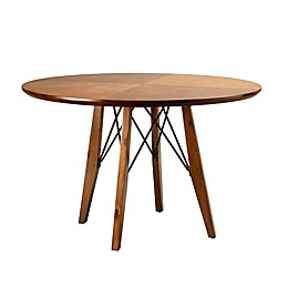 INK+IVY Clark Round Dining/Pub Table in Pecan