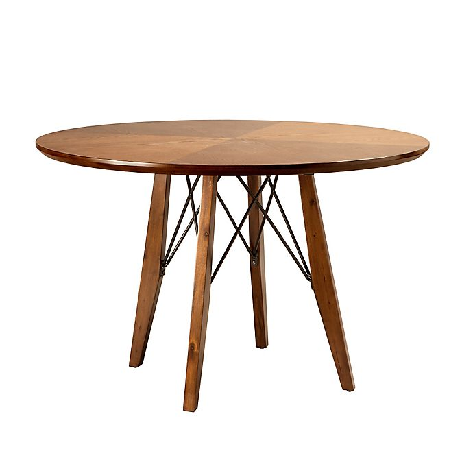 Alternate image 1 for INK+IVY® Clark Round Dining/Pub Table in Pecan