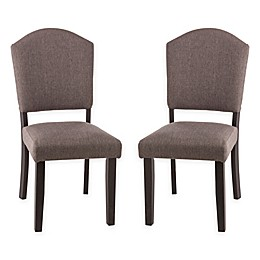 Hillsdale Emerson Parsons Dining Chair in Black (Set of 2)