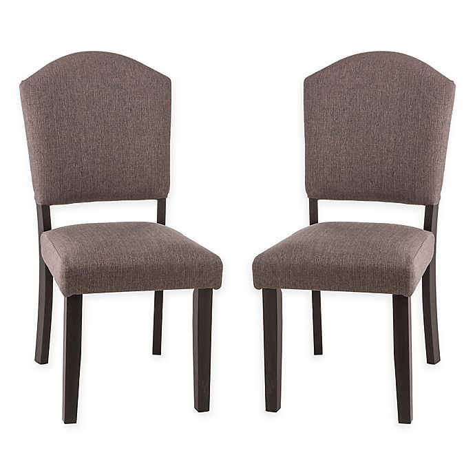 Alternate image 1 for Hillsdale Emerson Parsons Dining Chair in Black (Set of 2)