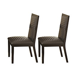 Steve Silver Co. Antonio Dining Chairs in Charcoal (Set of 2)