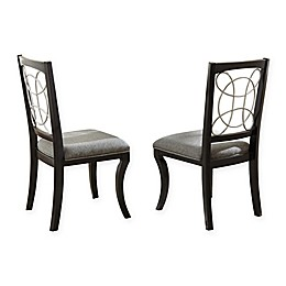 Steve Silver Co. Cayman Dining Chairs in Black (Set of 2)