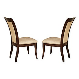 Steve Silver Co. Marseille Dining Chairs in Cherry (Set of 2)