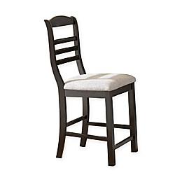 Steve Silver Co. Bradford Counter Chair in Black