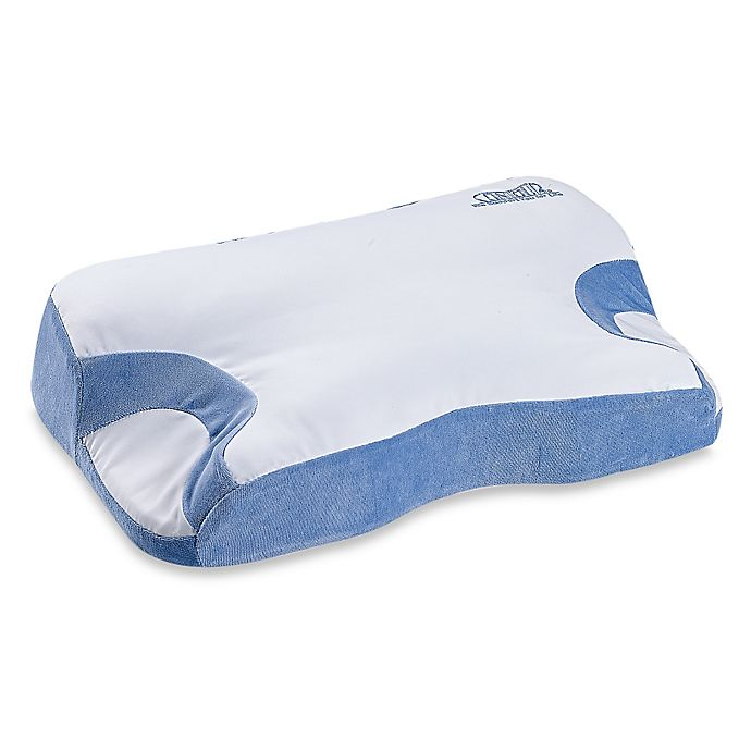 Alternate image 1 for Contour Living CPAP 2.0 Orthopedic Airway Alignment Pillow in White