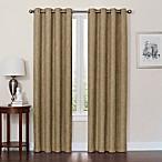 Quinn 84-Inch Grommet Top 100% Blackout Window Curtain Panel in Mocha