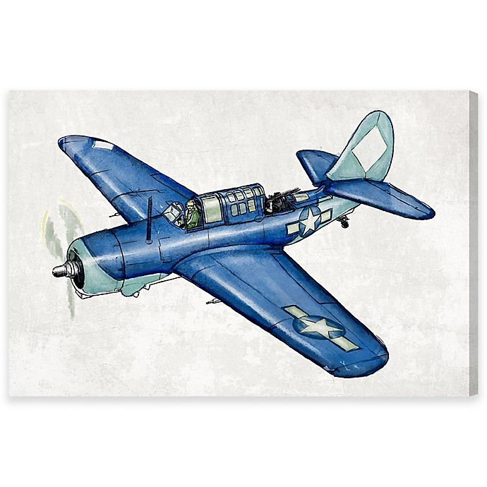 Alternate image 1 for Vintage Aviator II 24-Inch x 36-Inch Canvas Wall Art