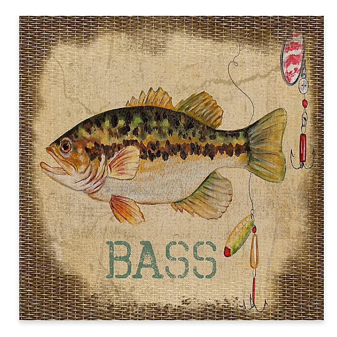 Alternate image 1 for Bass All Weather Outdoor Canvas Wall Art