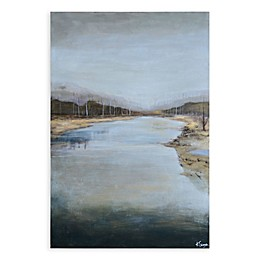 Mountain Stream Canvas Wall Art