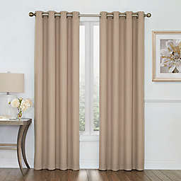 Boucle Grommet Top Room Darkening Window Curtain Panel