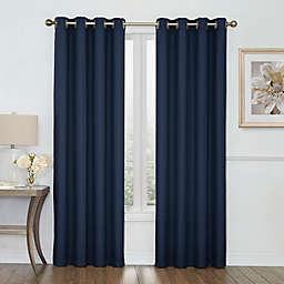 Boucle Grommet Top Room Darkening Window Curtain Panel