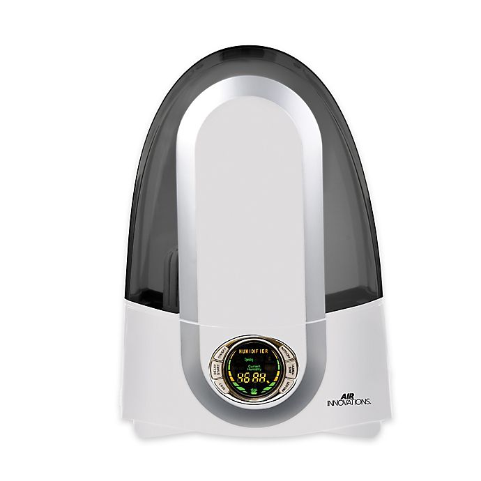 Alternate image 1 for Air Innovations Ultrasonic Cool-Mist Smart Humidifier in White