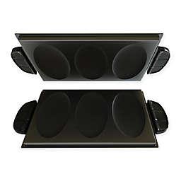 George Foreman® Evolve Grill Omelet & Snack Plates (Set of 2)