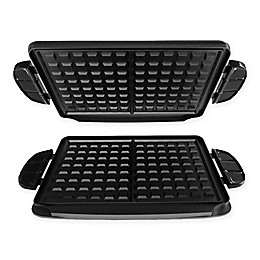 George Foreman® Evolve Grill Waffle Plates (Set of 2)
