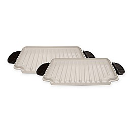 George Foreman® Evolve Grill Ceramic Grill Plates (Set of 2)