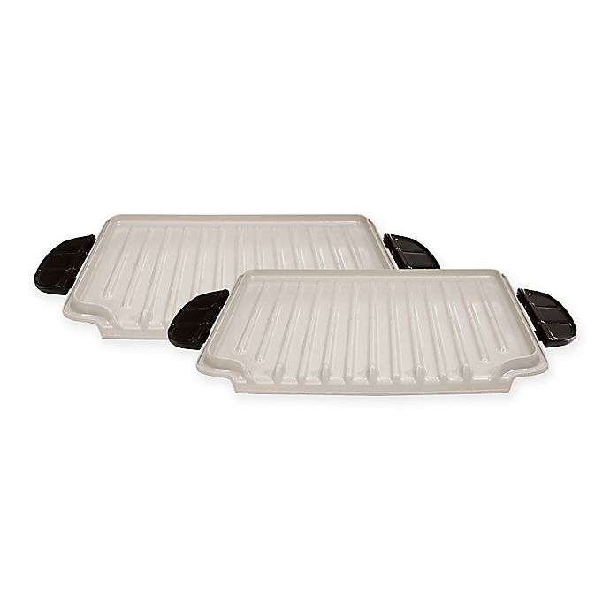 George Foreman 174 Evolve Grill Ceramic Grill Plates Set Of
