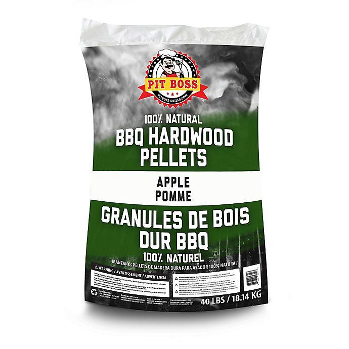Alternate image 1 for Pit Boss 40-lb. Bag of Hardwood BBQ Pellets Grilling Fuel in Apple