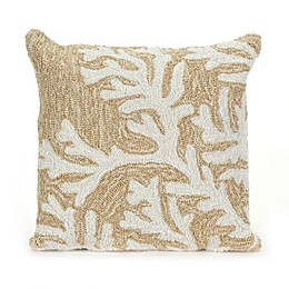 Liora Manne Coral Indoor/Outdoor Throw Pillow