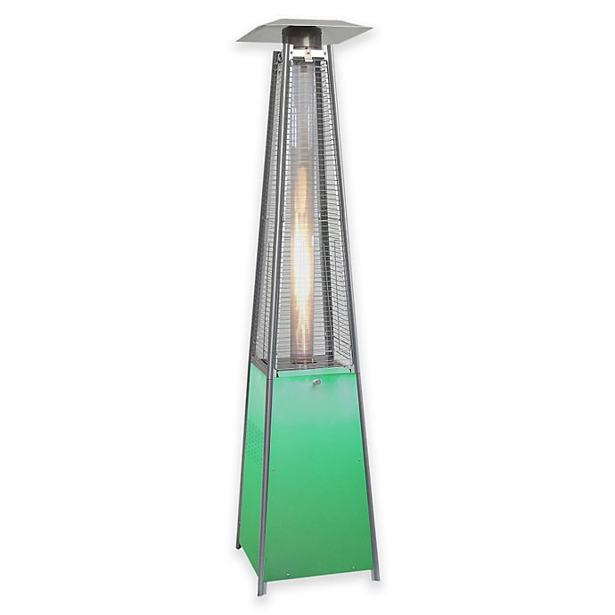 Alternate image 1 for Hanover HAN110SS Square Propane Patio Heater