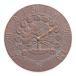 Times and Seasons Thermometer in Copper Verdigris/Bronze