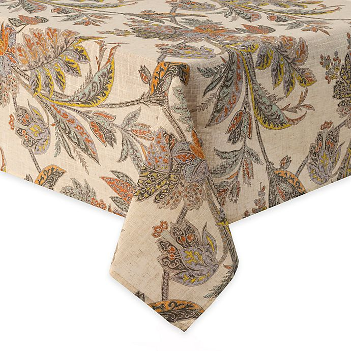 Alternate image 1 for Echo Ishana 52-Inch x 70-Inch Oblong Tablecloth